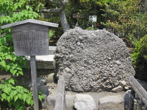 鶴岡八幡宮のさざれ石