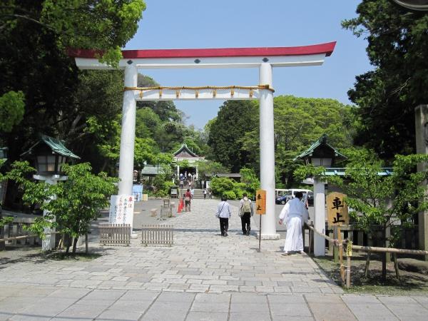 鎌倉宮の鳥居