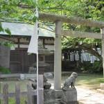 鎌倉の白旗神社の社務所