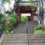 海福寺の門