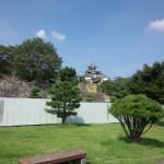 白河小峰城の天守閣