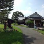 白河小峰城の茶屋