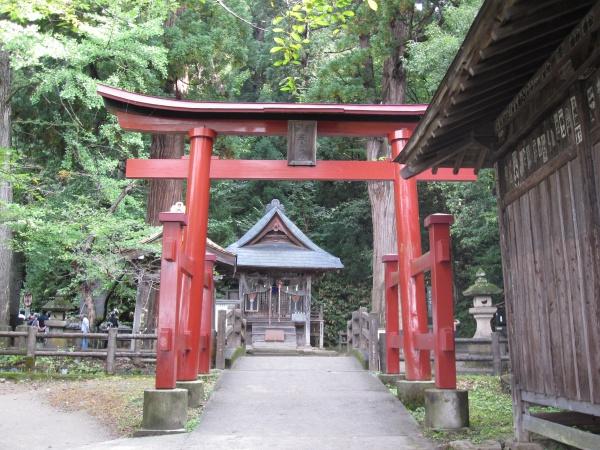 会津若松厳島神社二の鳥居