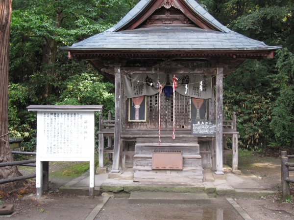 会津若松厳島神社本殿