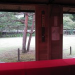 鶴ヶ城の茶屋内部