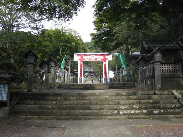 南湖神社鳥居
