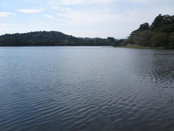 南湖 日本最初の公園 松平定信ゆかりの地 白河市 2012年初秋