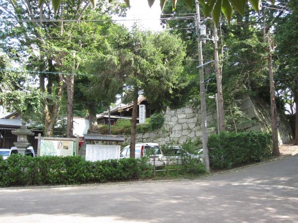 盛岡城の風景