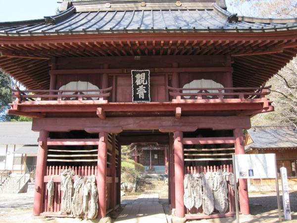 大平寺の三門