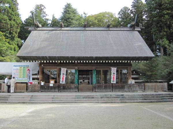 那須乃木神社拝殿
