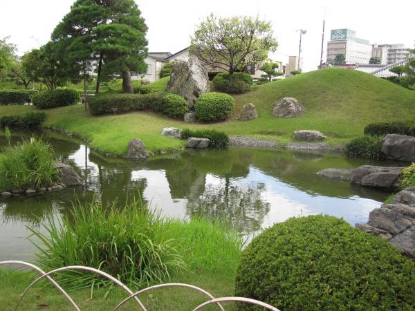 足利学校の池