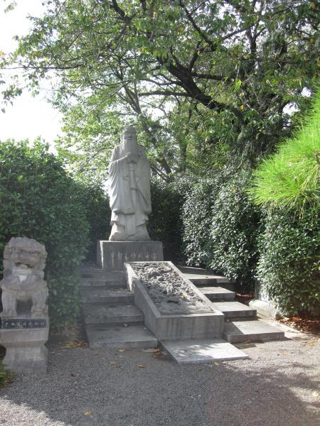 足利学校の孔子像