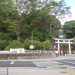 足利市織姫神社の鳥居