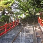 足利市織姫神社の階段