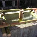 足利市織姫神社の手水舎