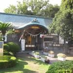 足利市織姫神社の社務所