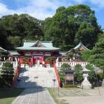 足利市織姫神社拝殿