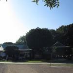 足利市織姫神社境内風景