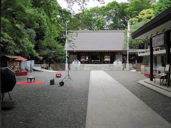 港区乃木神社拝殿