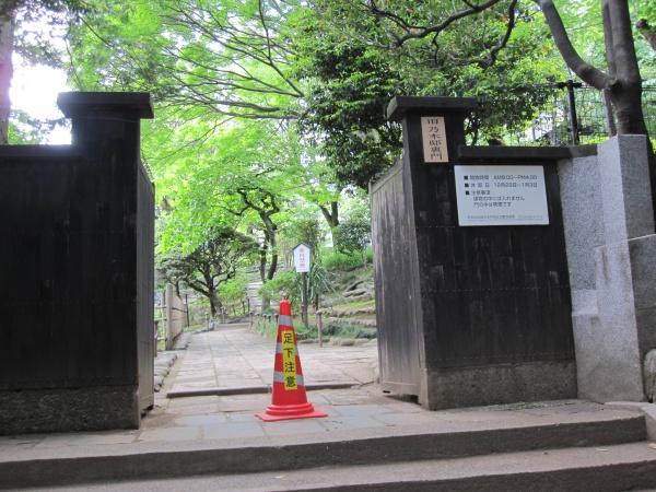 港区乃木邸神社側入り口