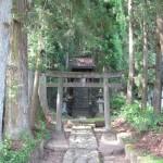 日光の青龍神社の参道