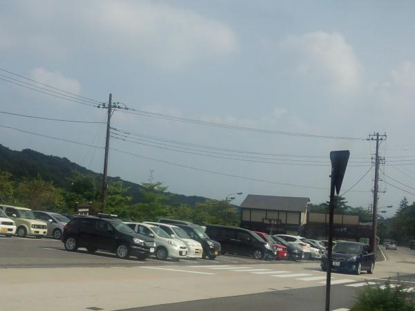那須温泉神社の大鳥居周辺