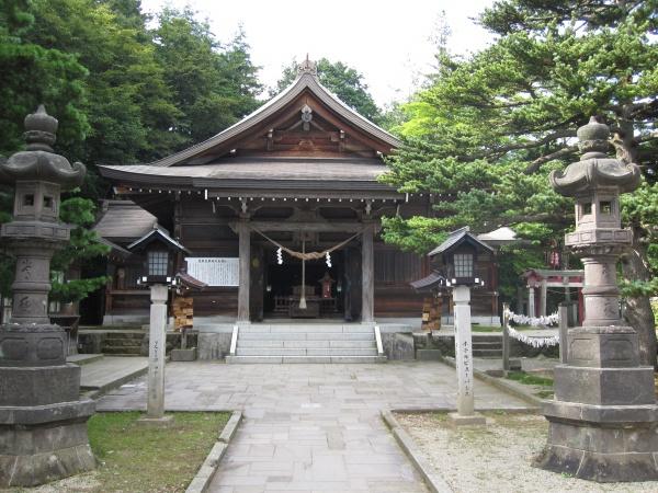 那須温泉神社拝殿