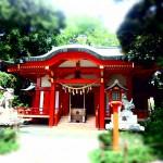 自由が丘 熊野神社拝殿