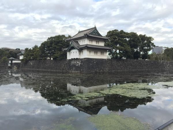 桜田巽櫓 江戸城 皇居外苑