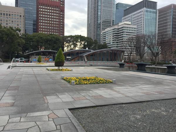 和田倉噴水公園 江戸城 皇居外苑