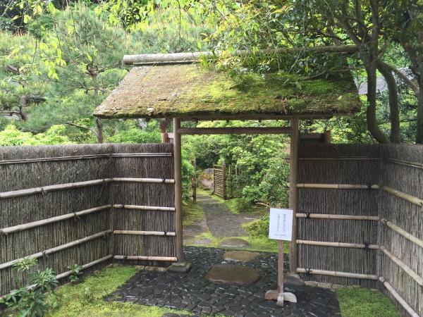 東慶寺の茶室