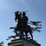 仙台城(青葉城)と宮城縣護國神社
