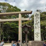 鹿島神宮は日本建国・武道の神様、剣豪が集った社