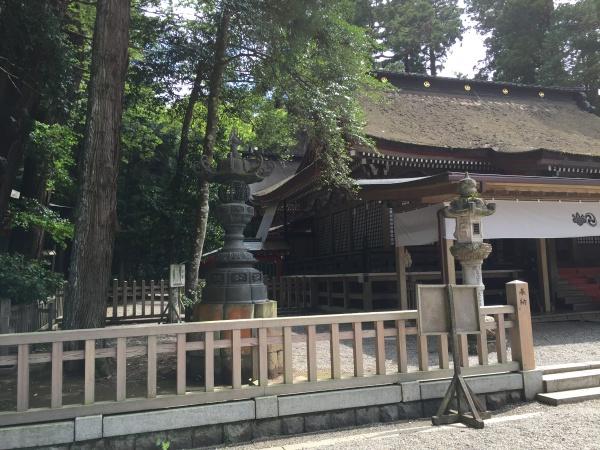 鹿島神宮の拝殿