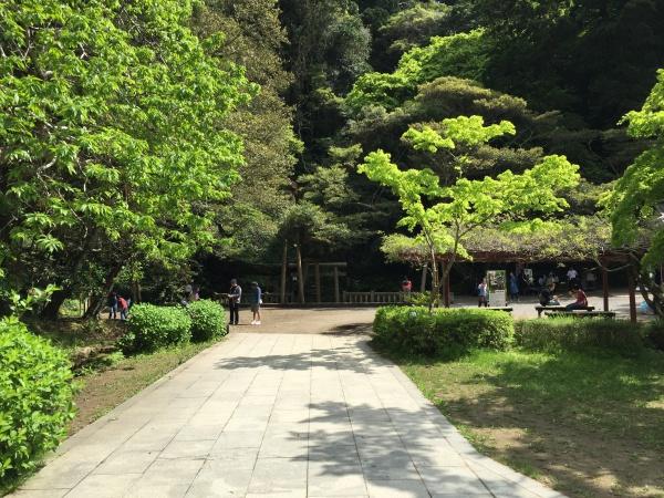 鹿島神宮園地御手洗公園