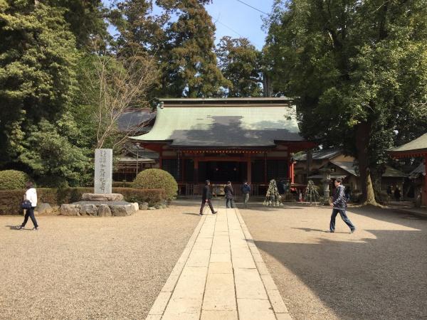 香取神宮の神楽殿