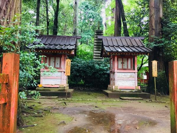 天降神社、市神社、馬場殿神社
