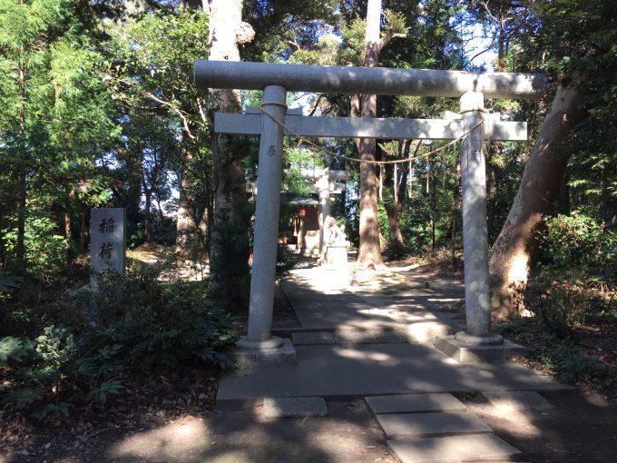 息栖神社の稲荷神社