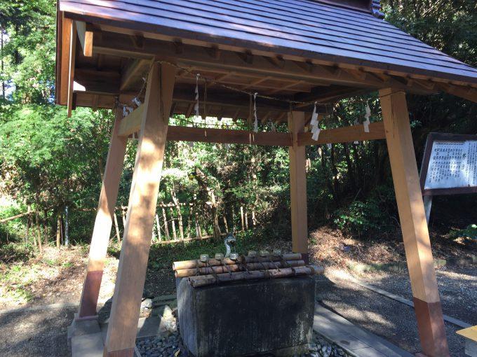 息栖神社の手水舎