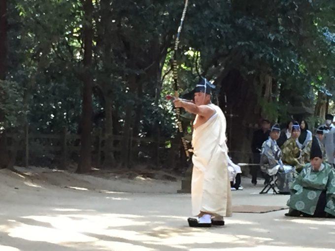 鹿島神宮の弓行事