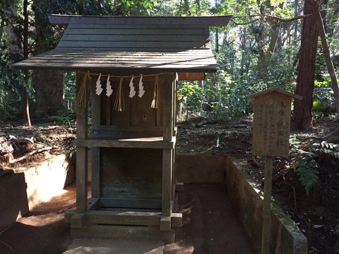 鹿島神宮の熱田社