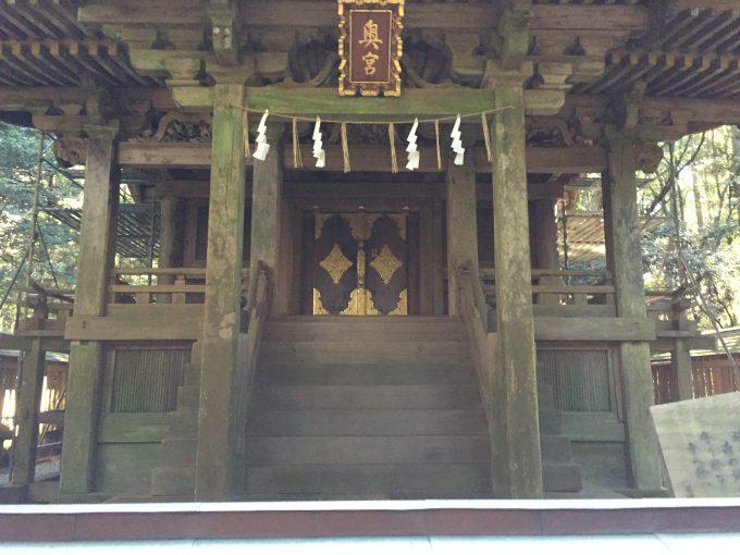 鹿島神宮の奥宮