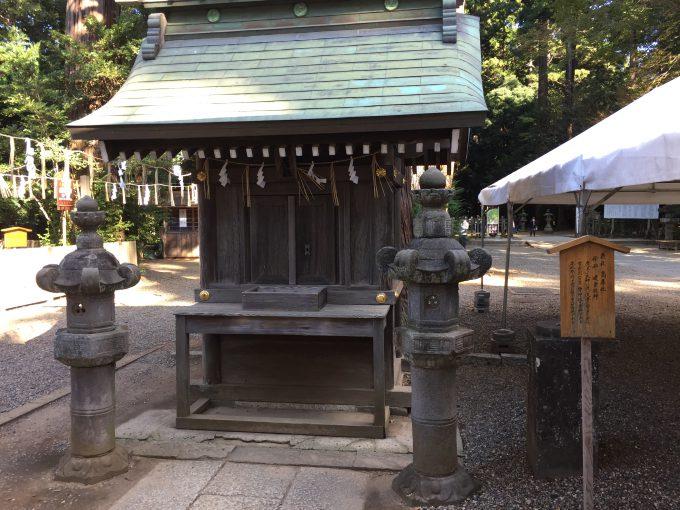 鹿島神宮の高房社