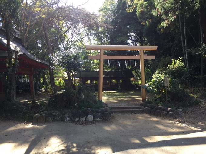 鹿島神宮の祖霊社