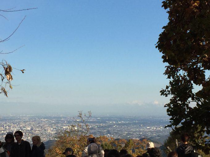 高尾山山頂風景