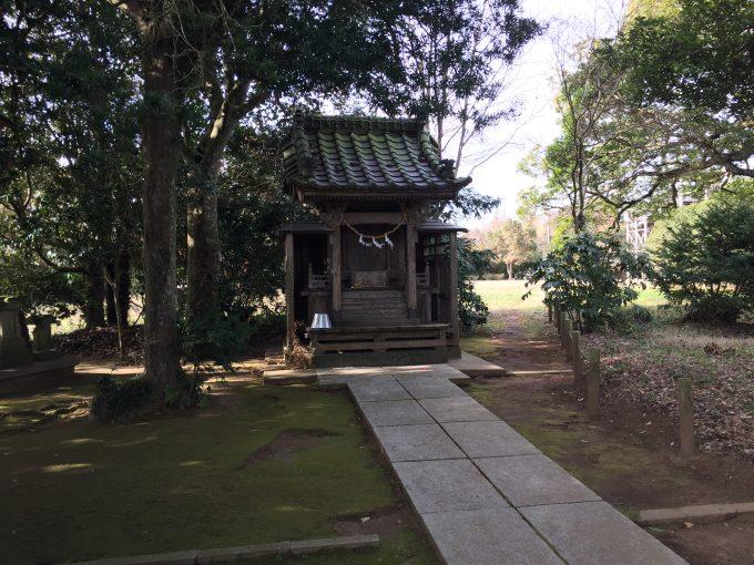 府馬の大クスのある宇賀神社