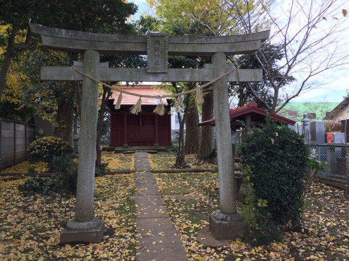 海隣寺の熊野神社