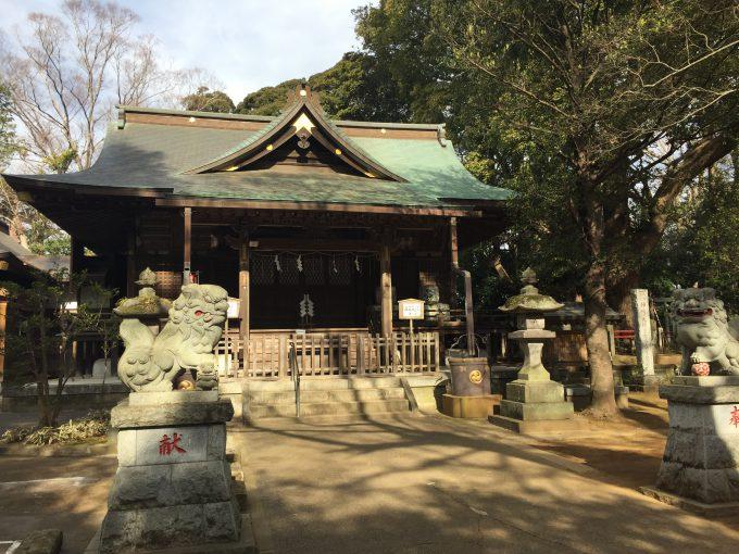 神崎神社(こうざきじんじゃ)拝殿