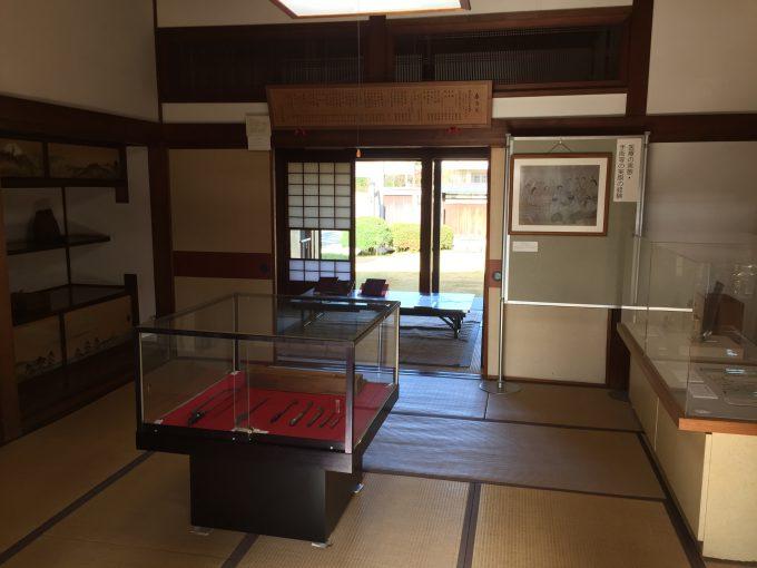 佐倉順天堂記念館の内部