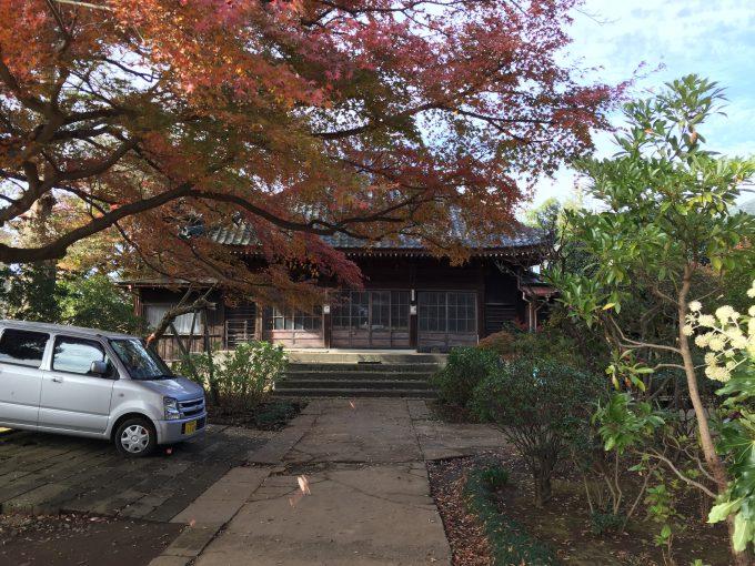 松林寺の本堂